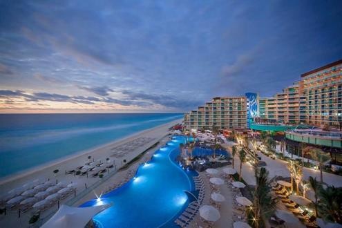 Hard Rock Hotel Cancun - Aerial View